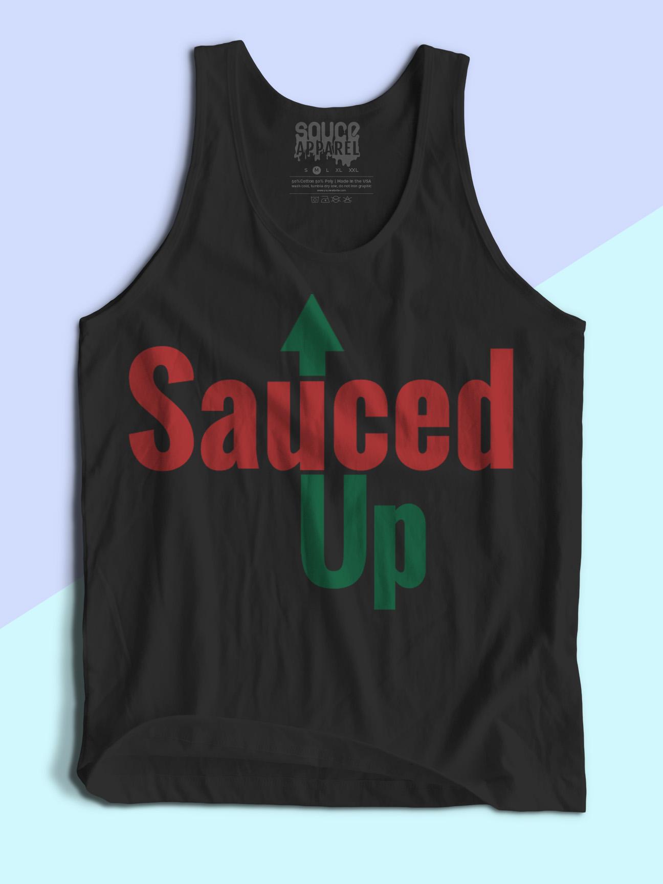 Sauced Up Tanks (Black)