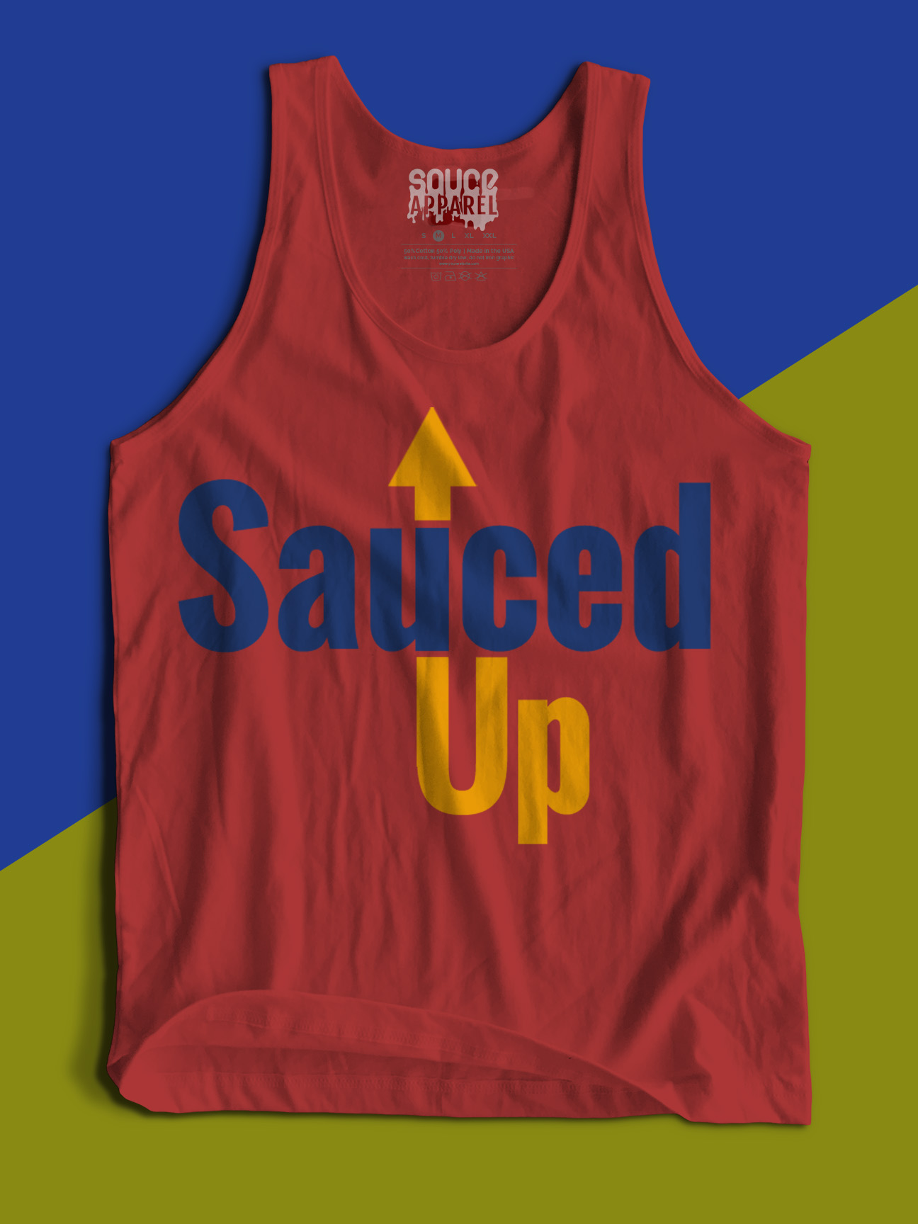 Sauced Up Tank (Red)