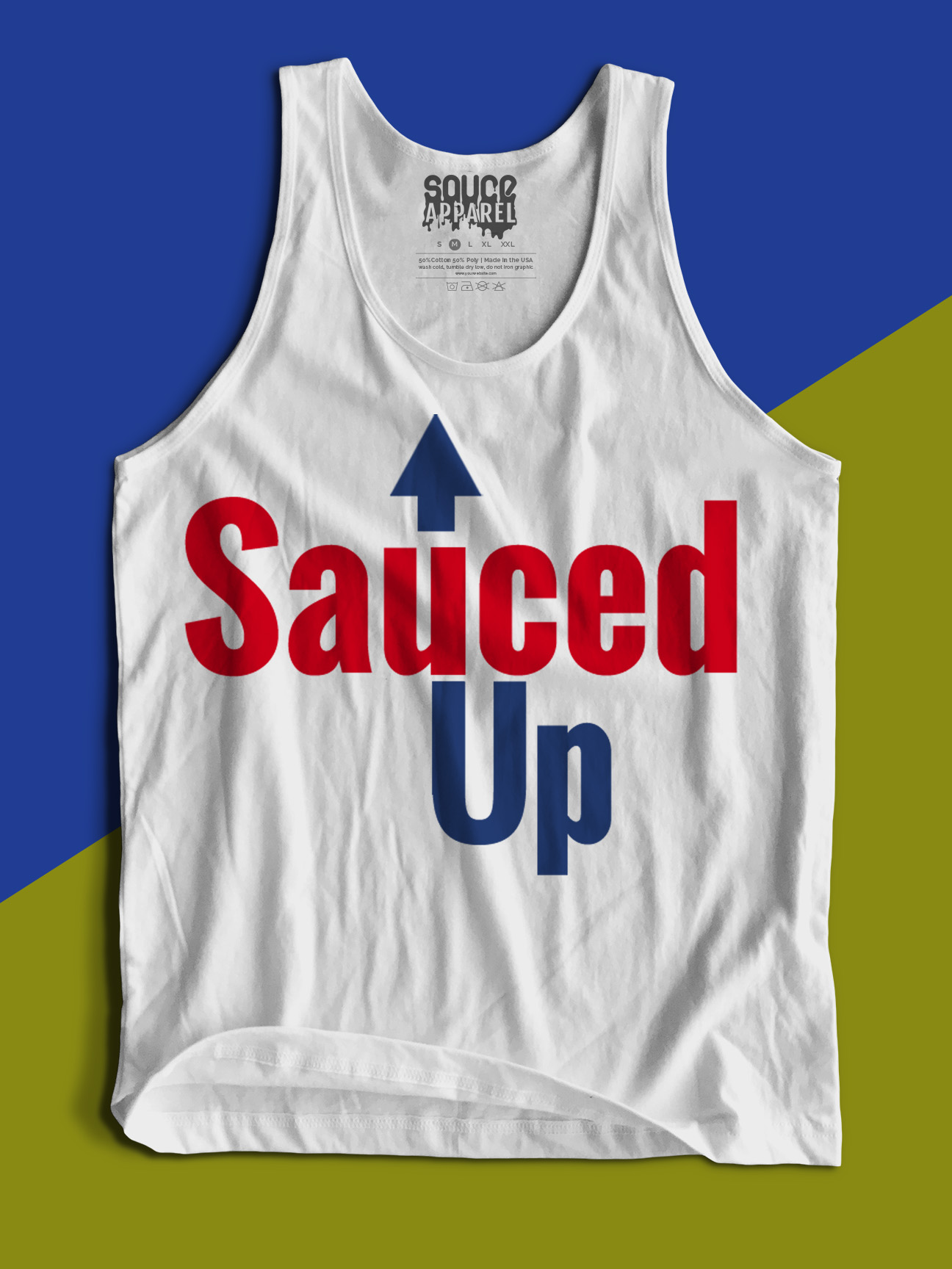 Sauced Up Tanks (White)